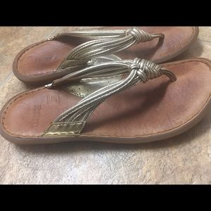 Ladies Sandals by BORN size 6. Good, used